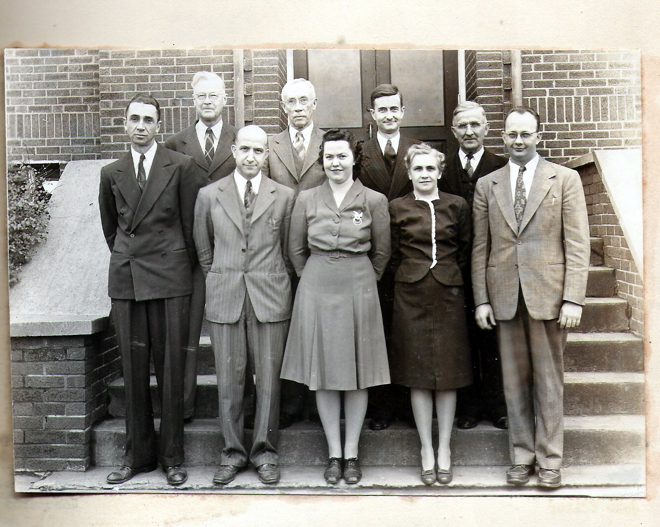 Educators at Tuscarawas-Warwick High School in 1948